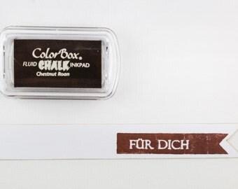 ♥♥ Chestnut - chestnut Roan chalk Inkpad