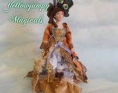 "1/12th miniature steampunk ""Lady Bebe De-vyne"""