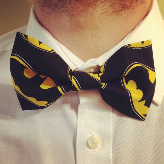 Batman Ring Logo Bowtie