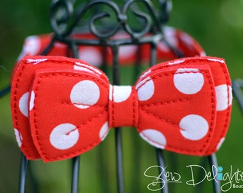 Red Polka Dot Infant/Child Bow Tie