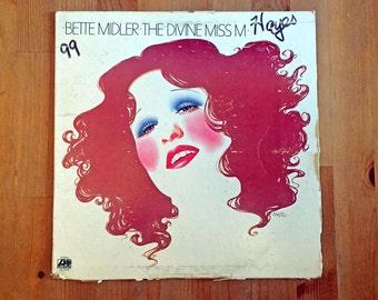 """BETTE MIDLER – The Divine Miss M (1972) Vintage Vinyl 12"""""""