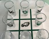 Philadelphia Eagles Drink Tac Toe