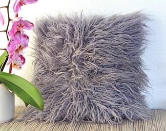 Adana Shaggy Wool Pillow Cover