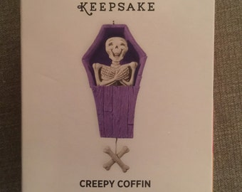 Hallmark coffin ornament