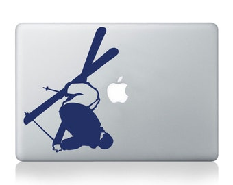Freestyle Skier Vinyl Decal - fits cars, laptops, windows, snowboards, skis or any other smooth non-porous surface K024