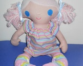 Pink Haired Black Eyed Mae Dolly