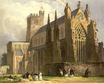 Carlisle Cathedral - a 225 piece Wooden Jigsaw Puzzle from BCB Puzzles