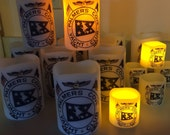 Flameless Personalized Photo Candles