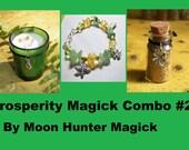 Prosperity Combo Kit #2 Money Drawing Ritual Charm Kit