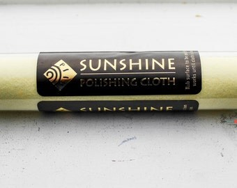 Sunshine Polishing Cloth   Jewelry Polishing Cloth