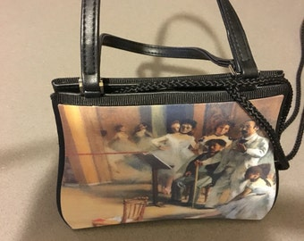 French Impressionist Manet Purse Evening or City
