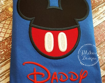 Boy Mouse Custom embroidered Disney Inspired Vacation Shirts for the Family! 980
