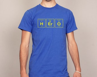 Hero Funny Periodic Table of Elements T-shirt