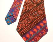 Beautiful Colored Necktie Hawaii
