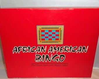 African American Bingo Game