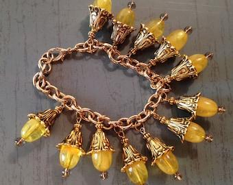 Lemon Drop Charm Bracelet