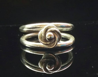 Argentium Sterling Silver Chainmaille Ring all sizes