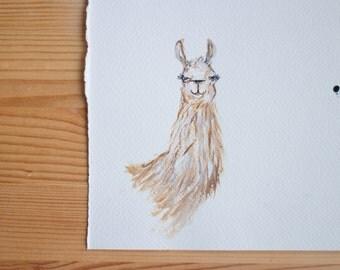 Llama - original artwork