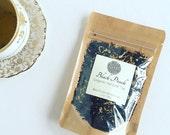 Black Peach Loose Leaf Tea / Black Tea / Peach Tea / Floral Tea /Full Leaf Tea / Organic Tea