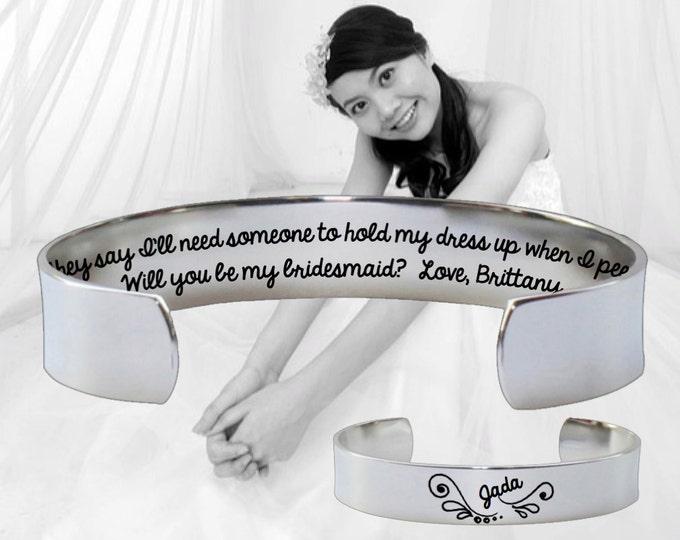 Bridesmaid Gift | Maid of Honor | Maid of Honor Gift | Bridesmaid | Bridesmaid Gift | Will you be my | They say I'll need | Korena Loves