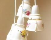 Vintage English Tea Cup Chandelier