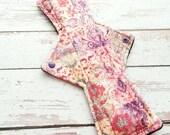 """12"""" Minky Heavy Reusable Cloth Pad  - Fleece- Ready to Ship"""