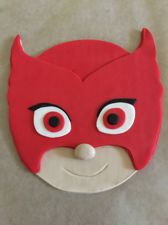 PJ Masks Inspired Cake Topper Owlette