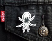 My Chemical Romance Lapel Pin Danger Days Spider Hand-drawn