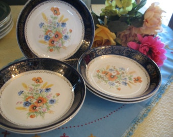 5 plates to soup Century by Salem 23 karat. Free transport.