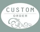 Custom Listing for Lisa S