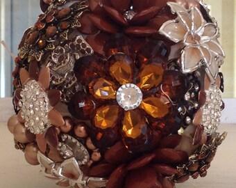 Brooch Bouquet Broach Bouquet Bridesmaid Bouquet Custom Bouquet Wedding Bouquet