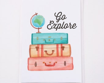 Go Explore - Postcard
