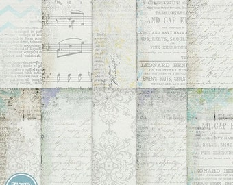 ON SALE Digital blog and scrapbooking background , papers vol.69 - INSTANT Download