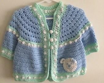 Little crochet sweater size 1