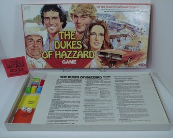 1980's Dukes of Hazzard Board Game