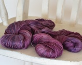 Merino Silk - Fingering Weight - HAZE - Suzy Parker Yarns - Superwash Merino SILK 50/50  100g 400 meters/437 yards