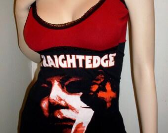 HALLOWEEN Tunic Top Bloody Tank Top HORROR Michael Myers Top Gothic Heavy Metal Halloween Top Punk Clubwear Zombie Monster