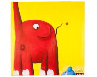 """A3 Art Print """"Eeek! Mouse!"""""""