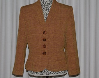 Vintage YSL Yves Saint Laurent Encore Blazer Jacket Suit Jacket France 1990s