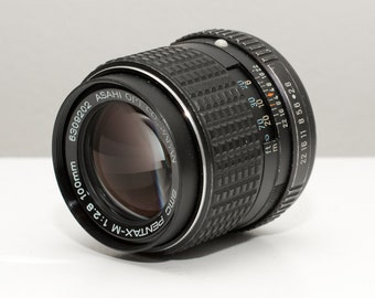 Pentax 100mm f/2.8 SMC-M Lens