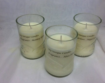 Soy Wax Candles in Recycled Glass - 200grams