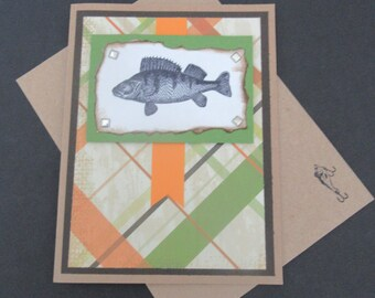 FISH Card For The Fisherman