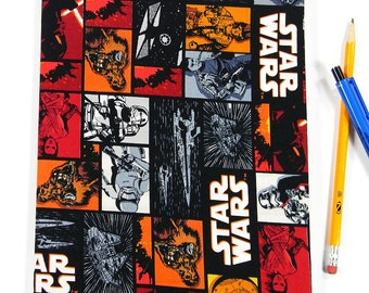 Star Wars Storm Trooper & Chewbacca Composition Book Cover (Handmade in the United States)