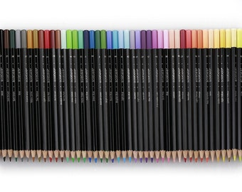 Solabela Colored Pencils Black Barrel - Set of 48