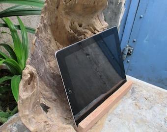 Driftwood iPad Docking Station