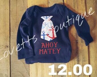 Ahoy Matey Onesie