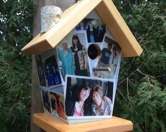 Personalize Photos Birdhouse