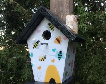 Birds & Bees Birdhouse