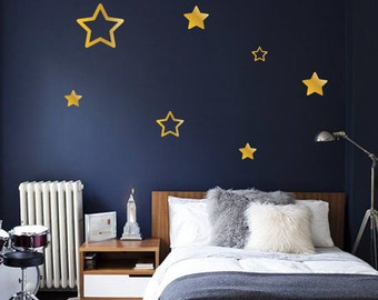 Star Wall Decals   Starry Night Bedroom