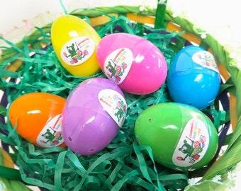 Gummibär (The Gummy Bear) Surprise Easter Eggs ~ Set of 6